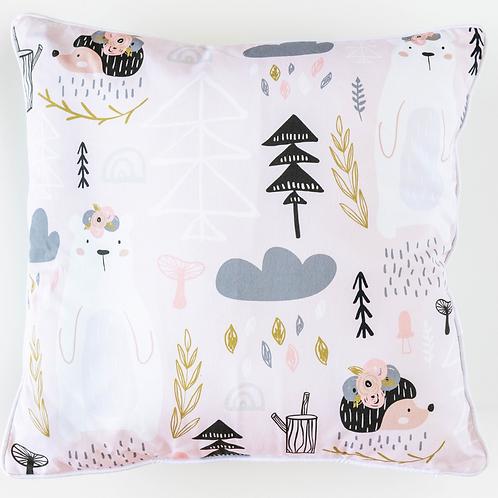 Blush Wild Cushion