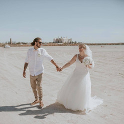Couple on beach