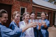 Celebrating a wedding