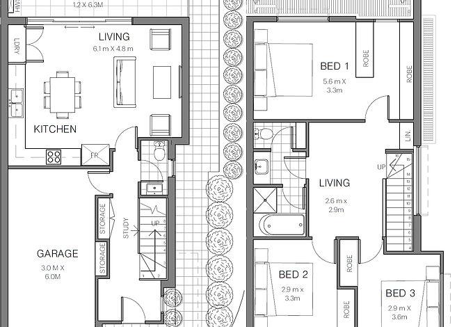 Floor plan - Unit 1.jpeg