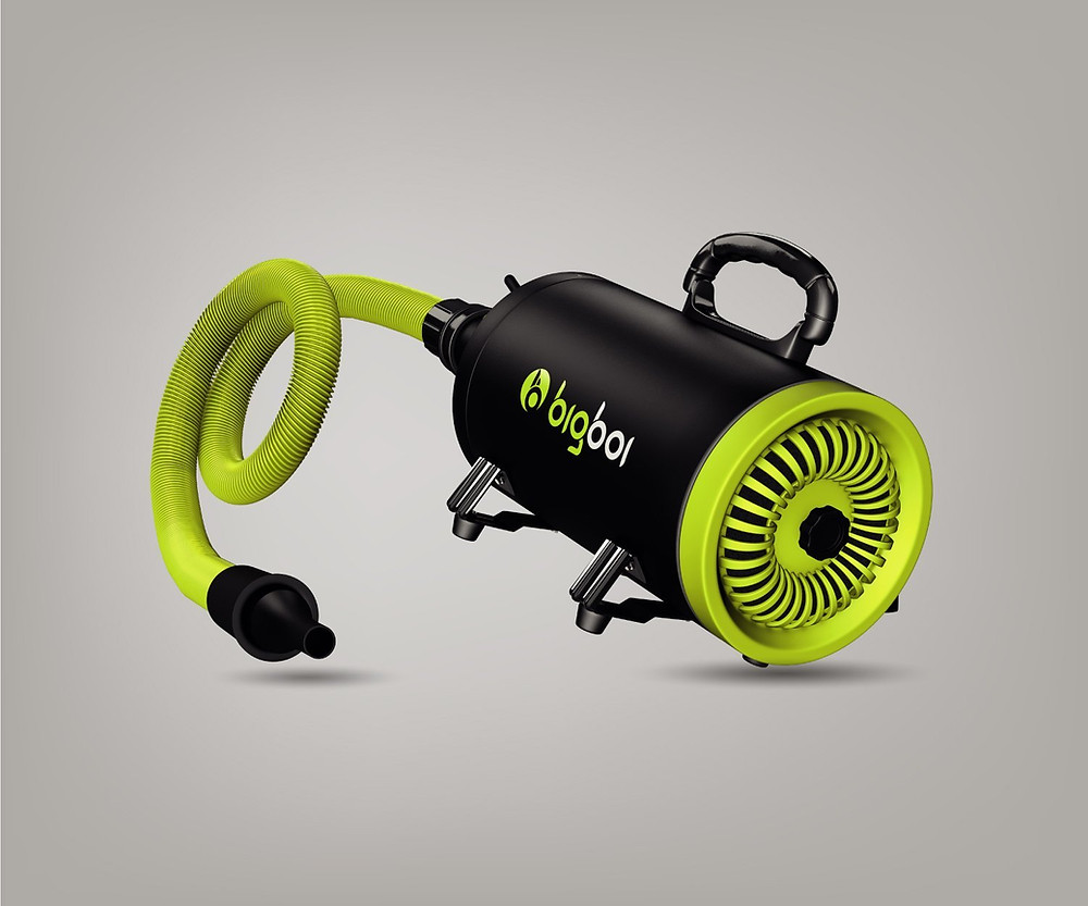 BigBoi Blower for touchless car drying