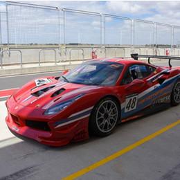 Ferrari 488 Challenge track support