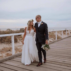 Couple on jetty