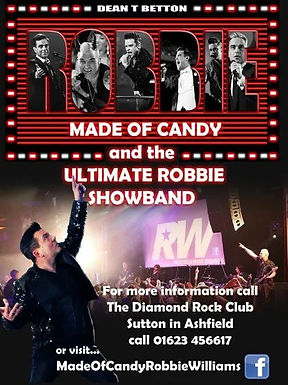 ROBBIE WILLIAMS BAND MADE OF CANDY