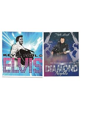 Elvis By Kevin Paul & Neil Diamond By Diamond Nights