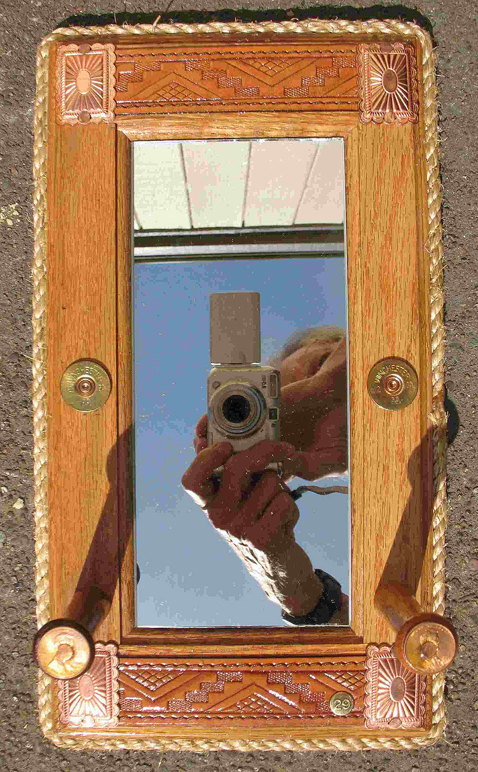 Western arts and crafts - Small Mirror Hanger