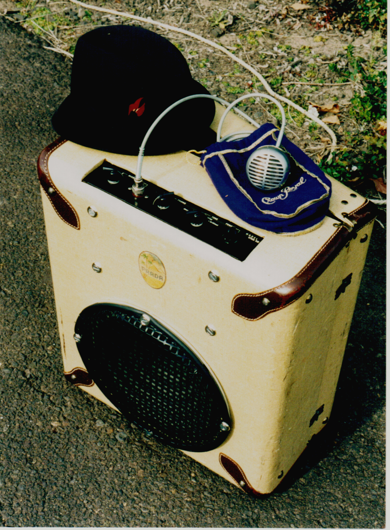 Prada Tweed Amp