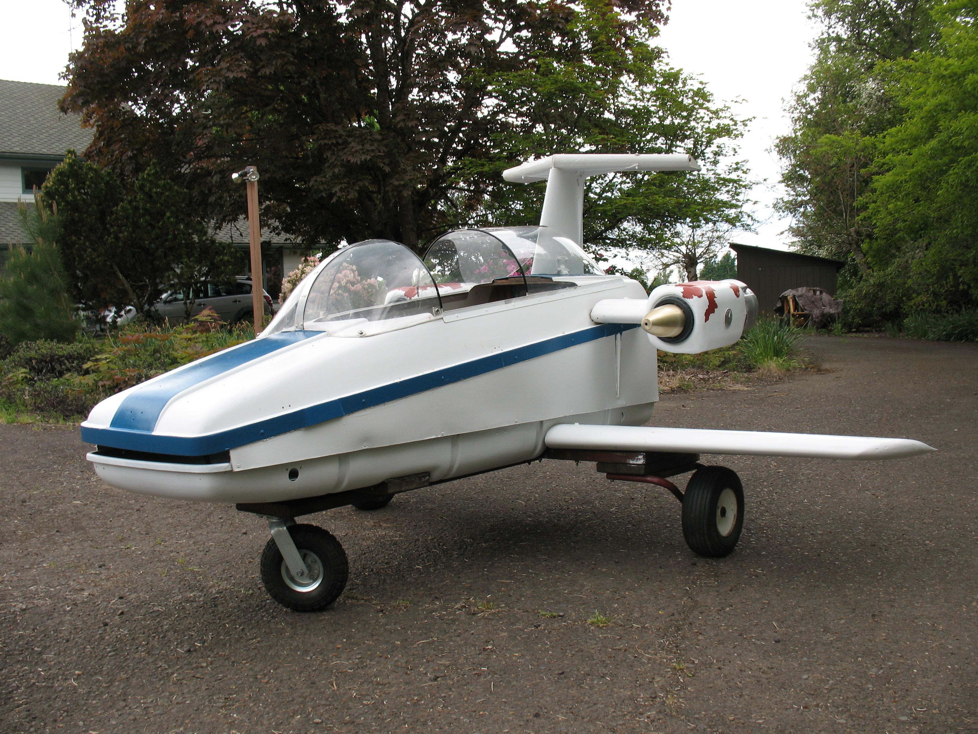 Kids Human Powered Lear Jet