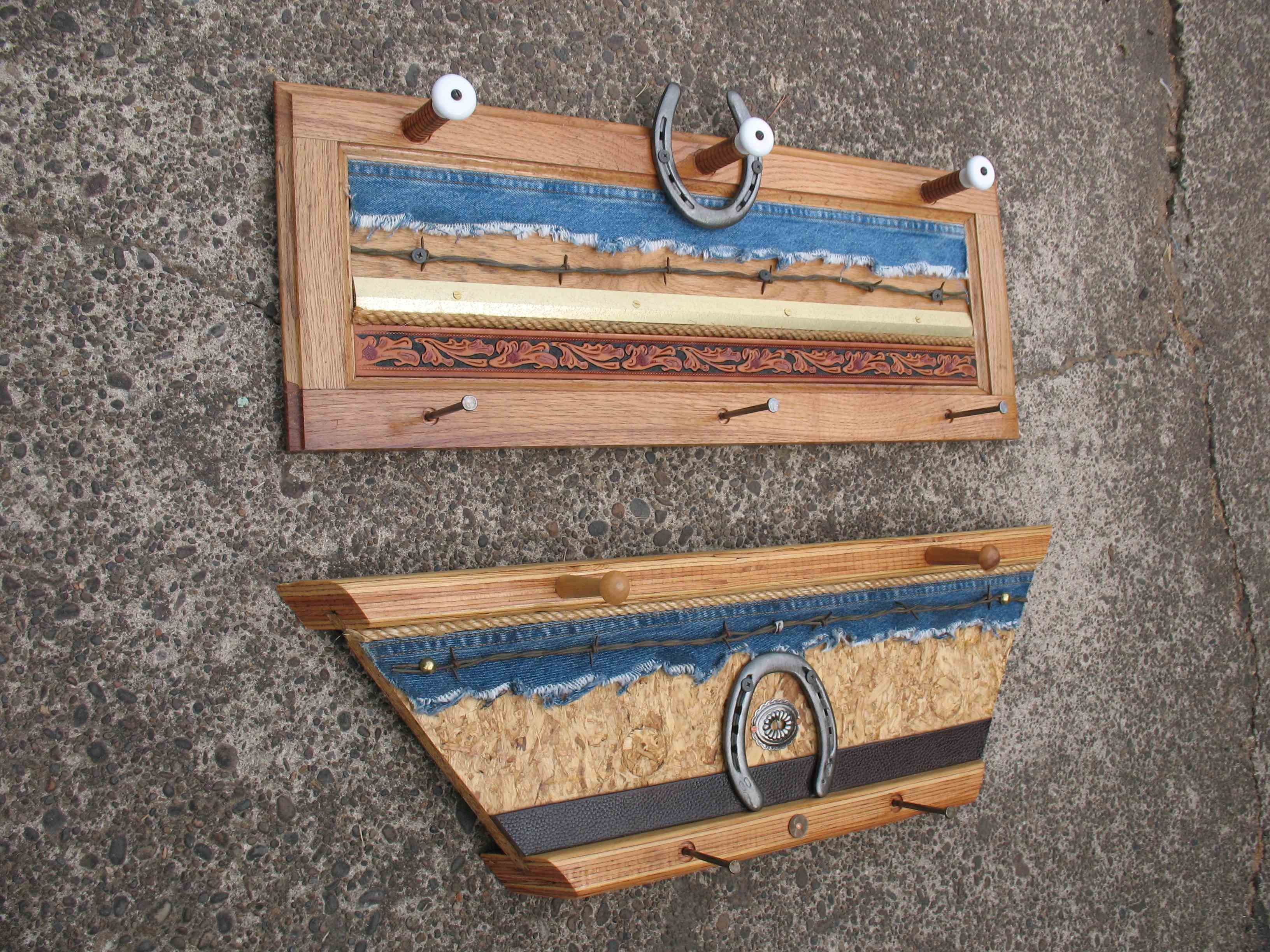2 and 3 Up Wood Hangers