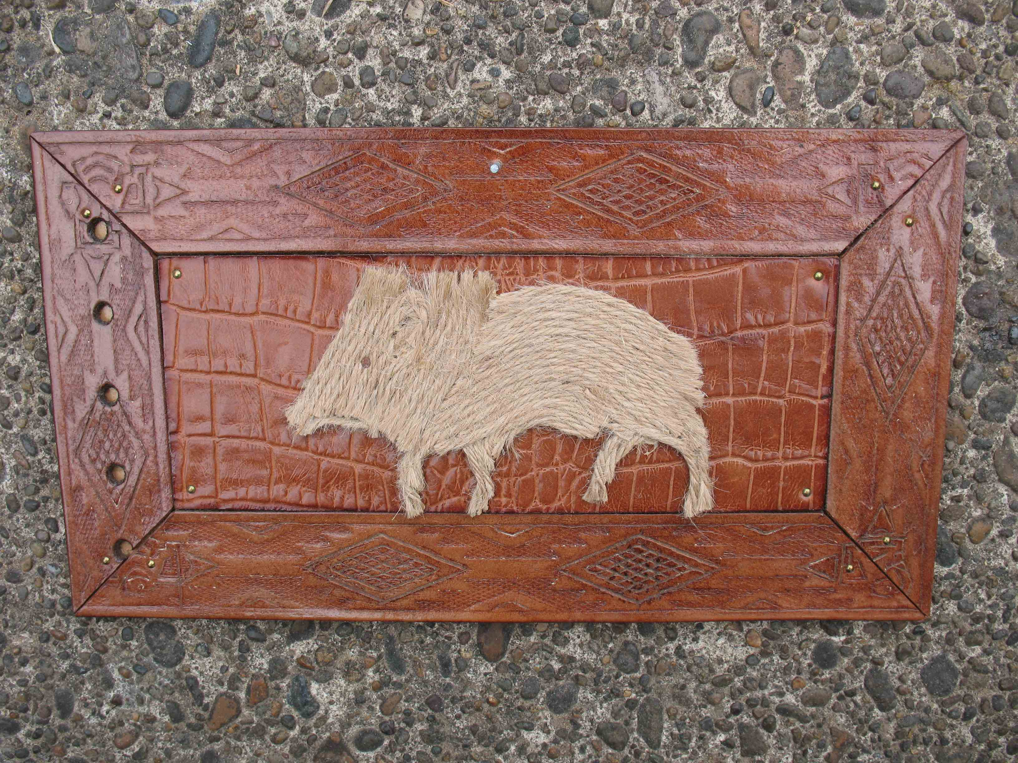 Small Javelina Panel