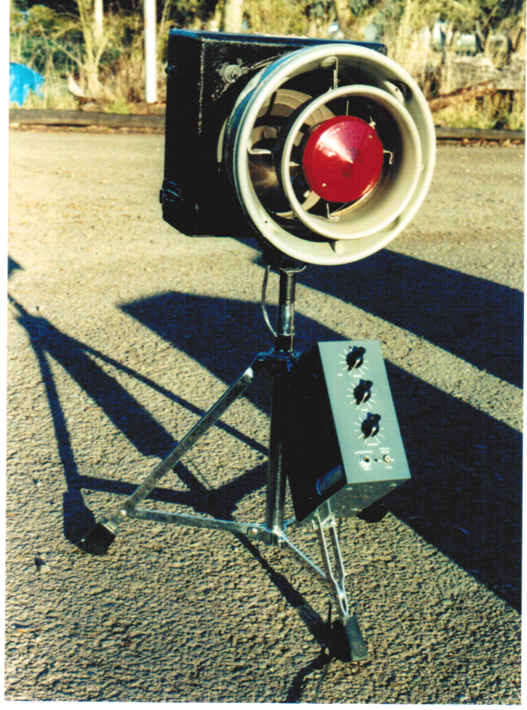 Air Raid Siren Amp
