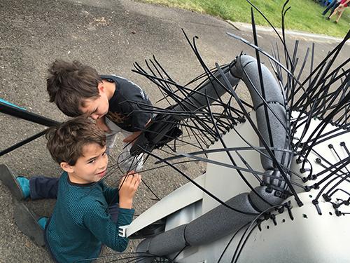 Spider Bike as Community Art