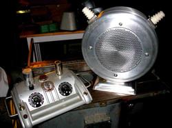 Futuristic Sci-Fi Guitar Amplifier