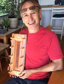 Murray Lein w Custom Watch Holder by Niels