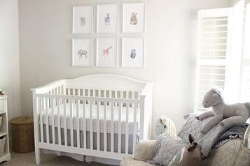baby nursery organization offered by Christine Duarte, postpartum doula
