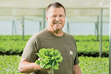 William Shelton owner of Shelton Farms in Whittier North Carolina