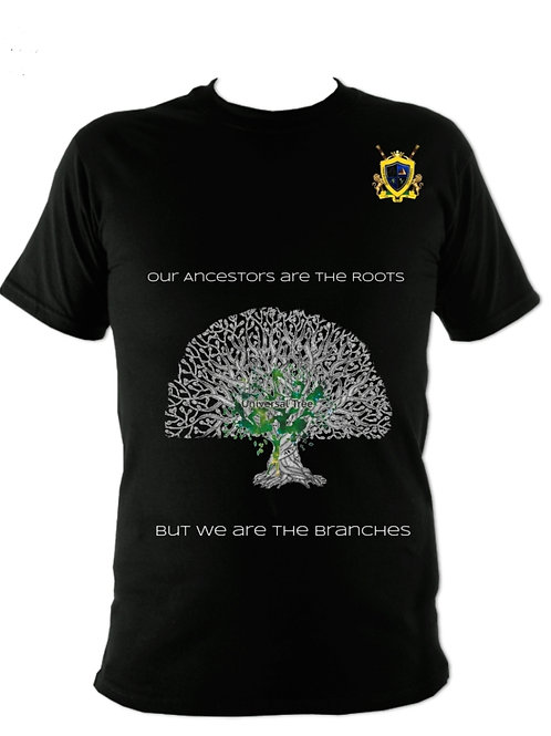 Ancestor Root Black T-Shirt