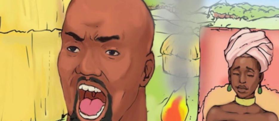 Queen Nzingha - Cartoon story