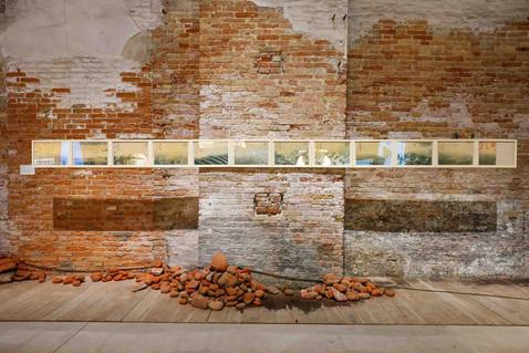 第57届威尼斯国际艺术双年展中国馆展览现场