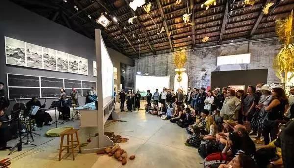 2017年威尼斯双年展,中国馆展览现场