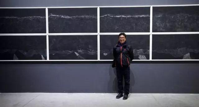 意大利第57届威尼斯国际艺术双年展中国馆,艺术家汤南南与作品《海中有海79》