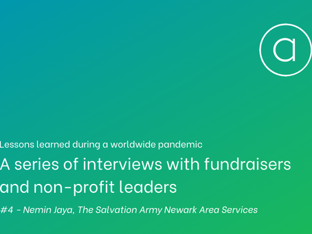 Lessons learned - an interview with Nemin Jaya of The Salvation Army