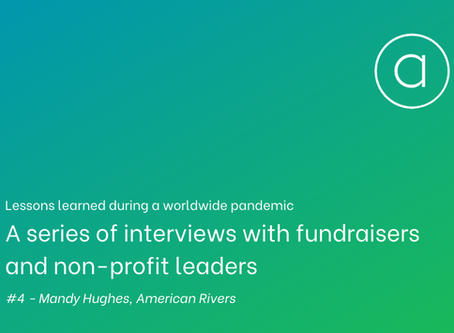 Lessons learned - an interview with Mandy Hughes of American Rivers