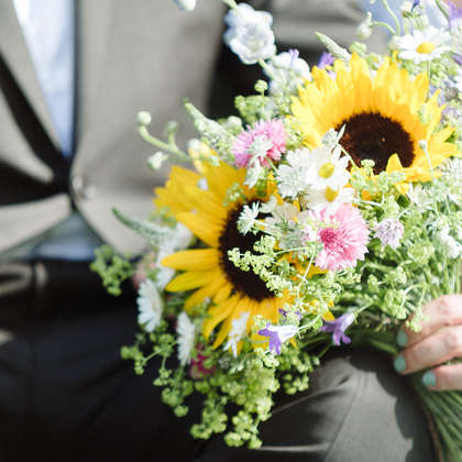 Wildflower Bridal Bouqet