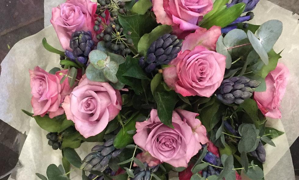 Rose & Seasonal Flower Bouquet