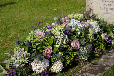 Locally Grown Floral Tribute