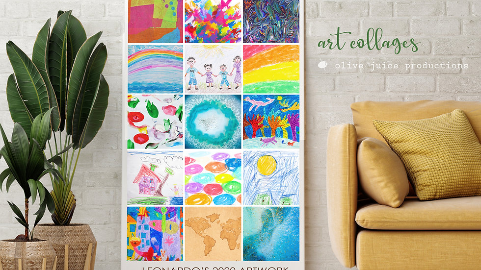 Kids Art Collage