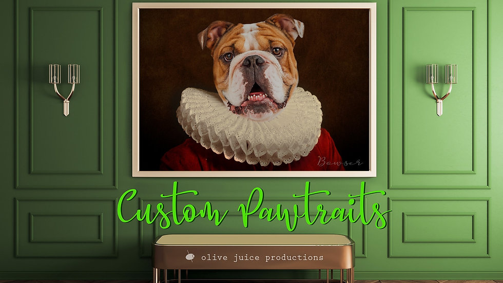 PET PAWTRAIT DIGITAL ART + PRINT
