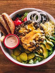 Burger Salad 🔜 Beef & Leaf Bowl 🥗_💥 I