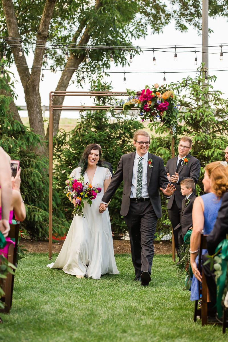 Garden Wedding at the Wild Carrot
