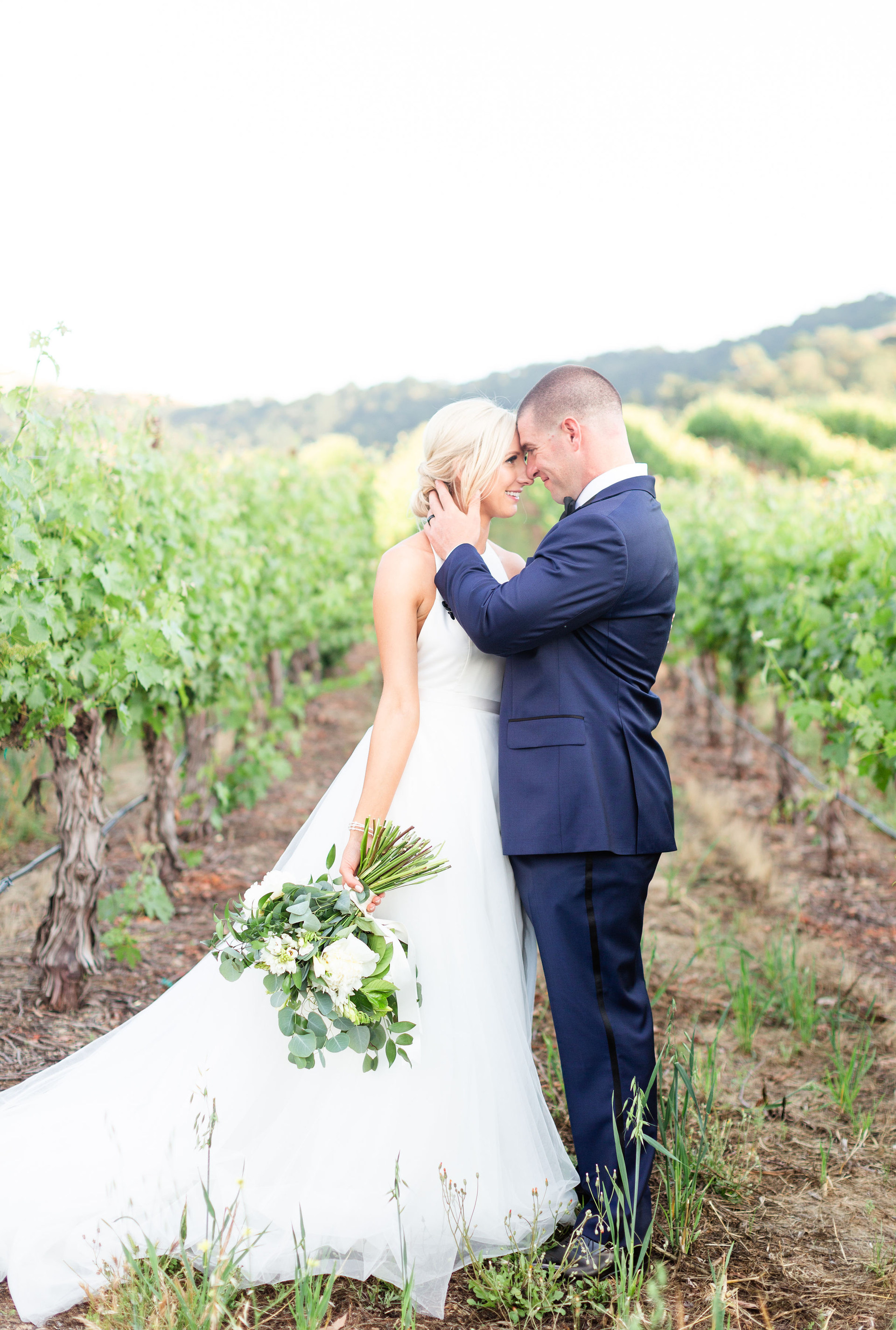 California Vineyard Wedding at Clos LaChance Winery