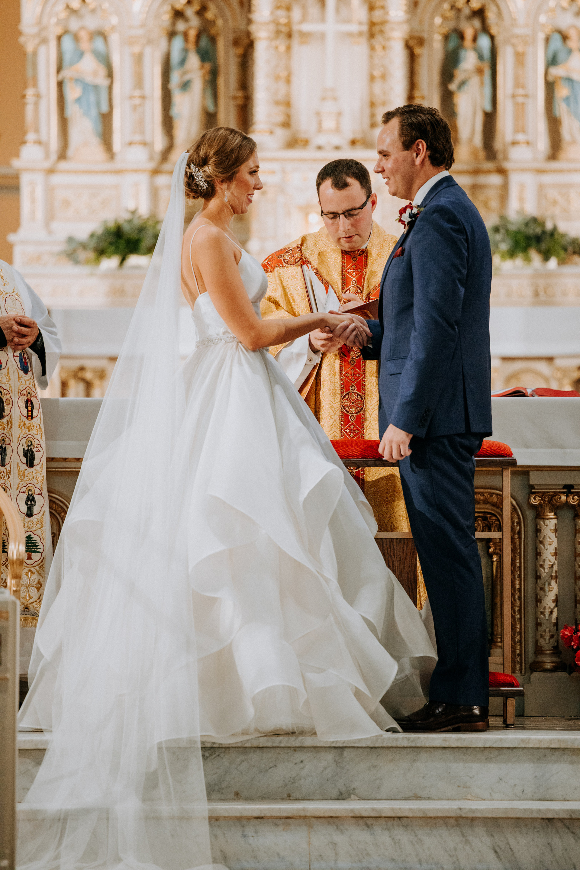 A Catholic Wedding With Flair