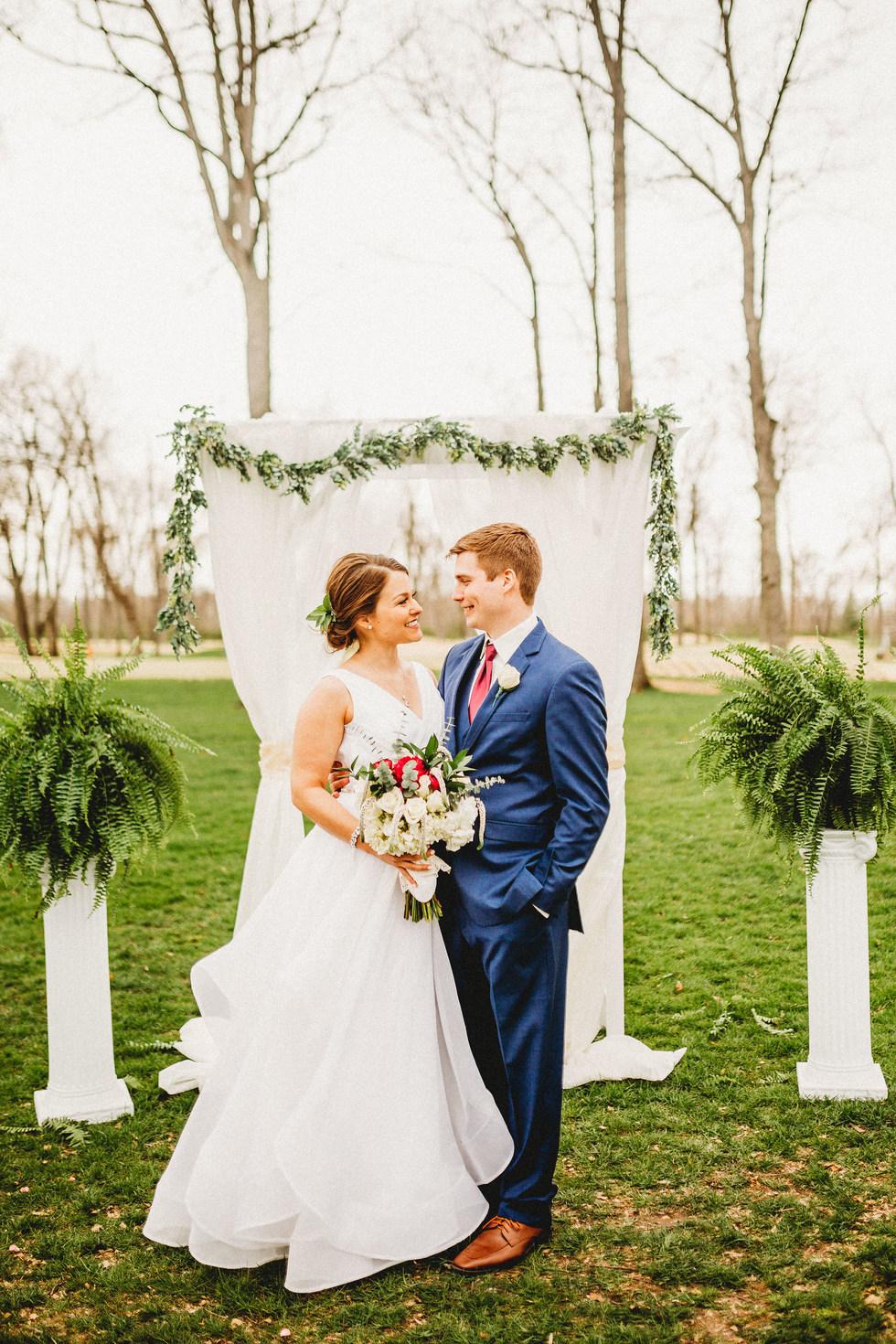 Midwest Garden Wedding