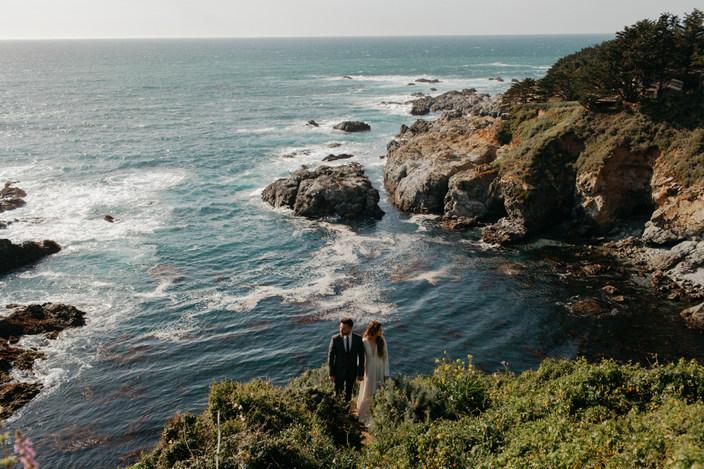 Cliffside Elopement