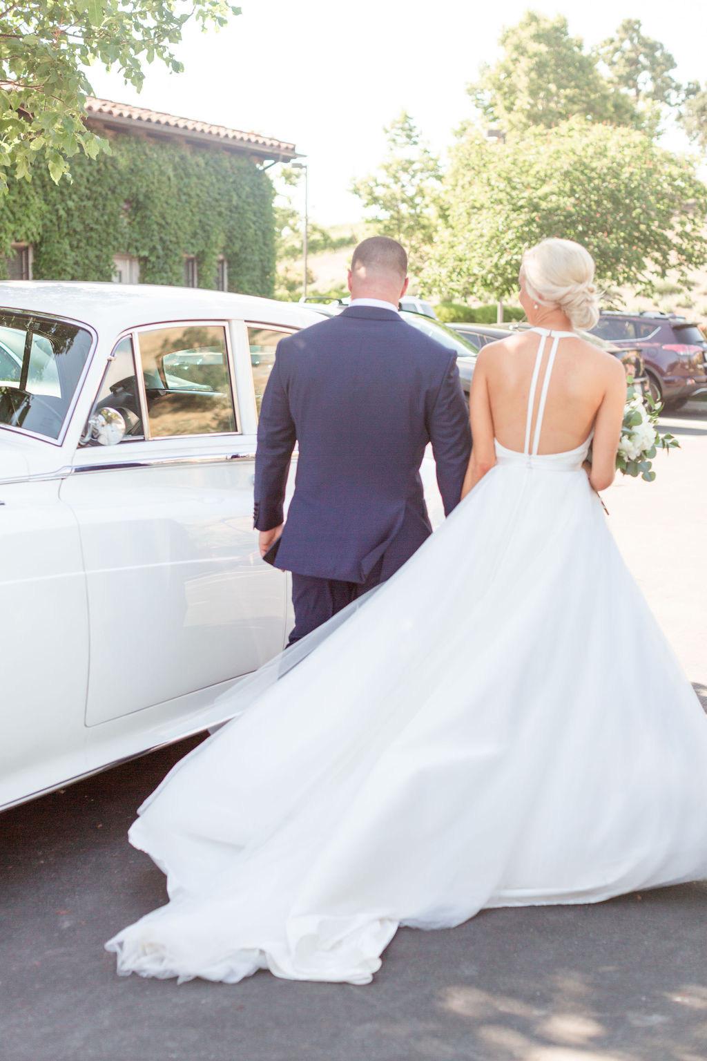 California Vineyard Wedding at Clos LaChance Winery