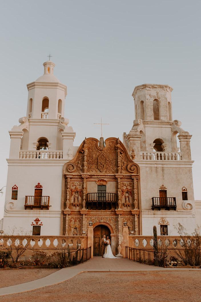 San Xavier Mission Elopement