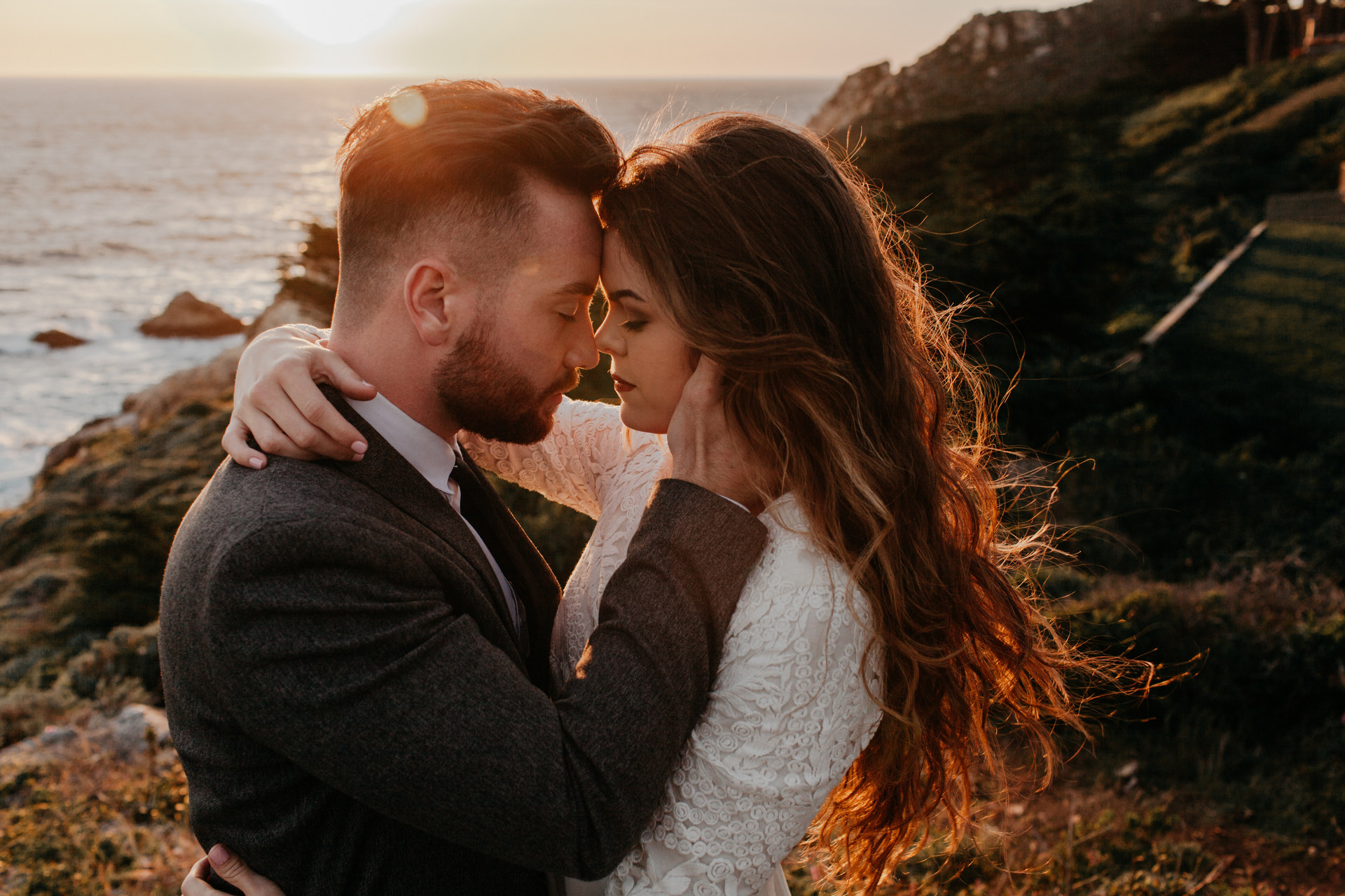 Cliffside Elopement