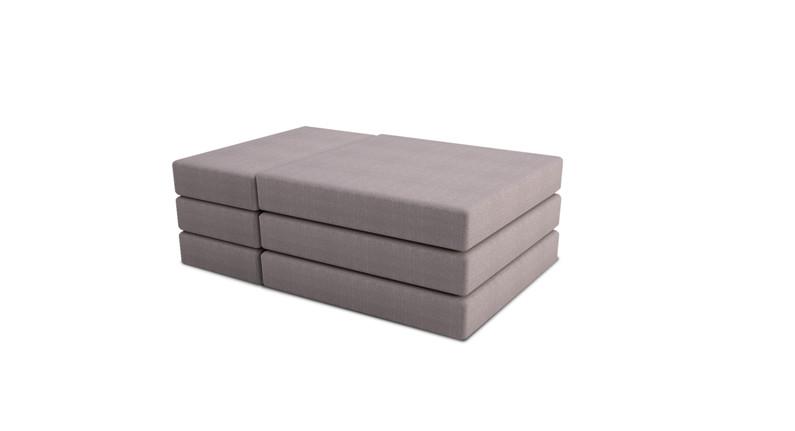 Dodeka- lemma cushions arraganged for bo