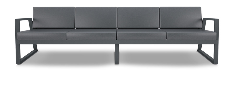 Dodeka- custom 4 seater fugue couch