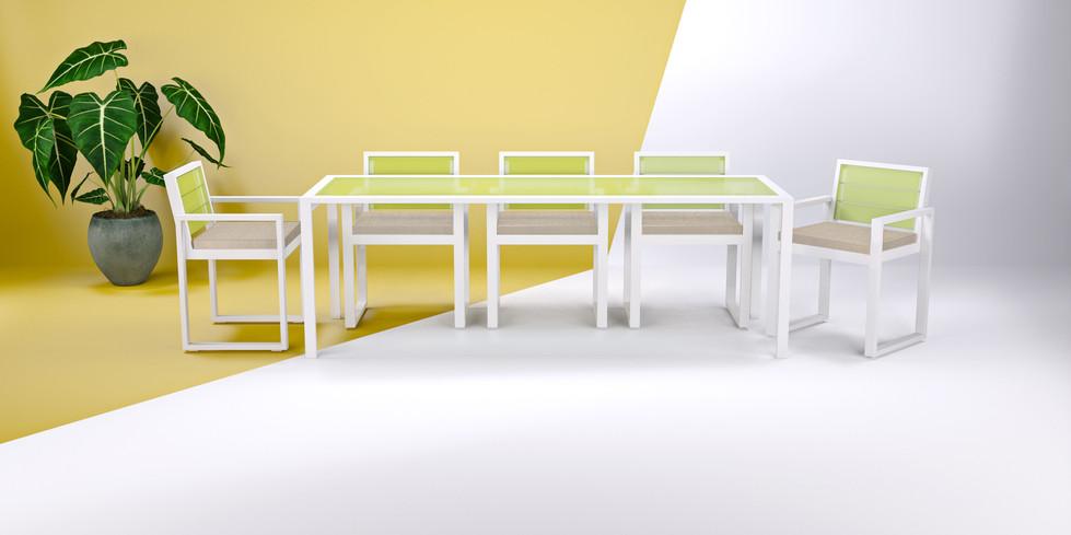 Dodeka- Dining set seats eight