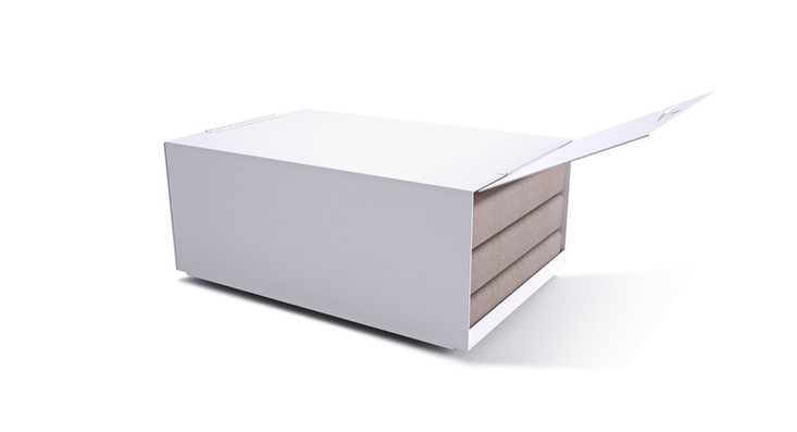 Dodeka- Premise coffee table cushion storage