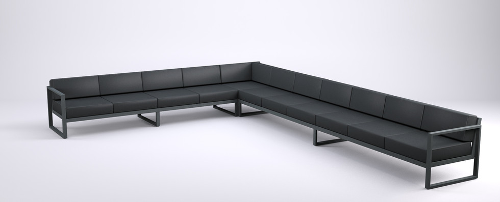 Dodeka- Sectional for eleven