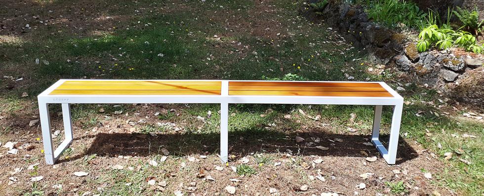 Dodeka- 8 foot custom bench