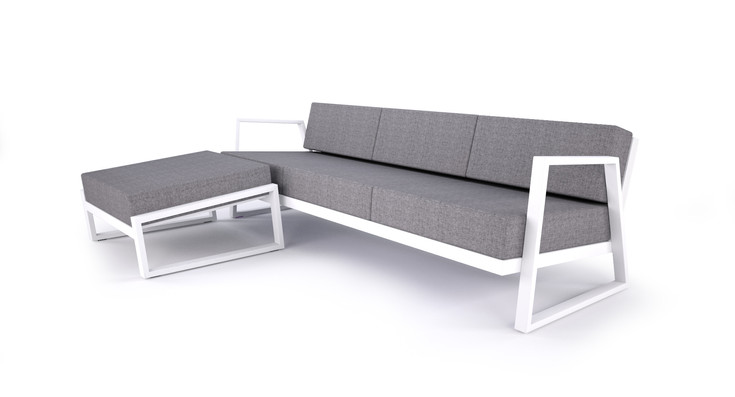 Dodeka- Canon Ottoman and Couch