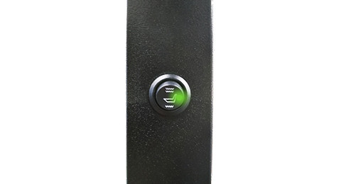 dodeka- heated seat button detail