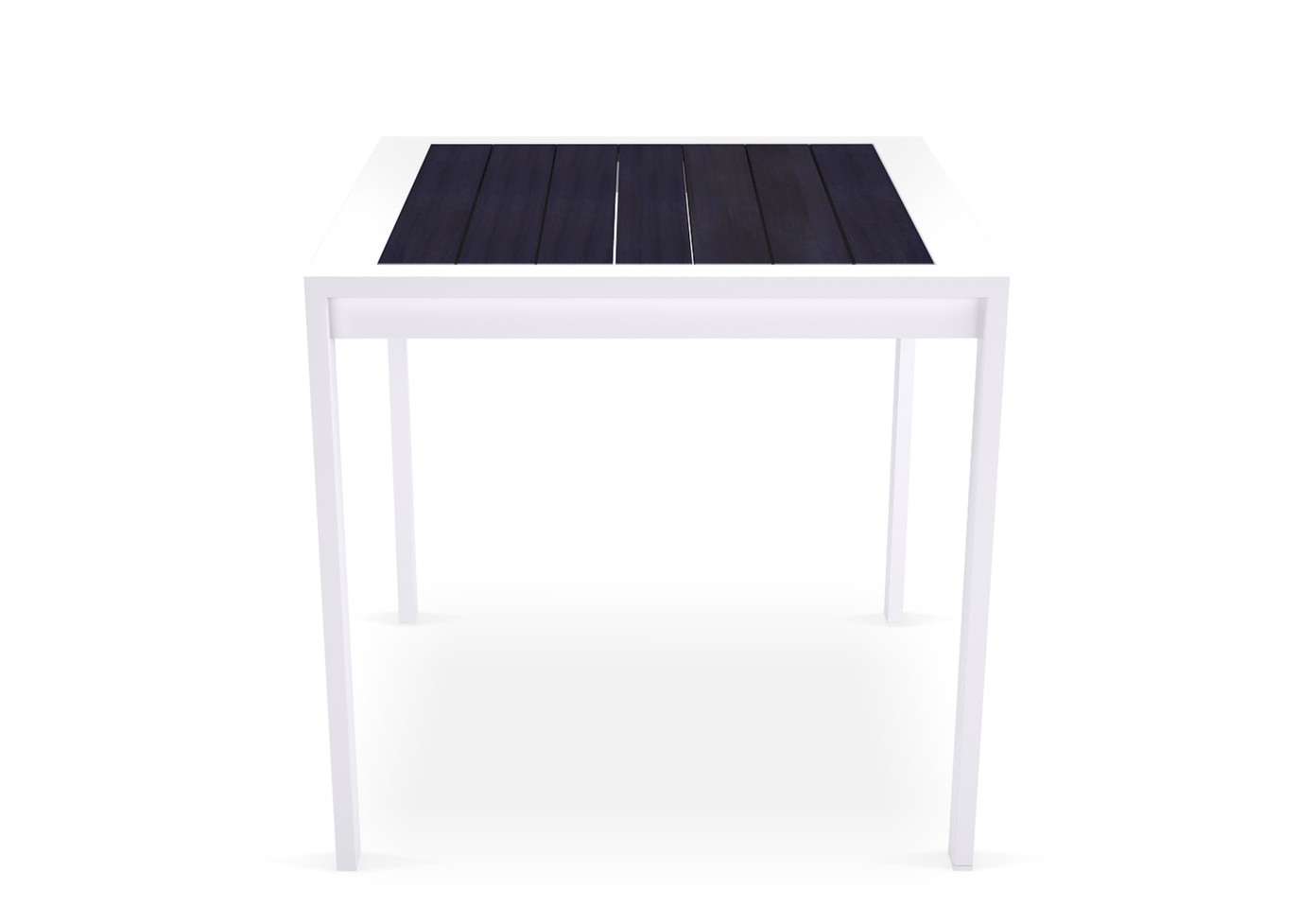 Dodeka- bistro table white sandtex and S